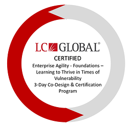 Enterprise Agility - Certification Seal - LC GLOBAL Certified - 2020-2