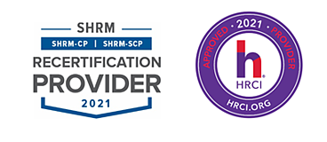 LC GLOBAL Consulting - SHRM and HRCI - Approved Provider Seals 2021